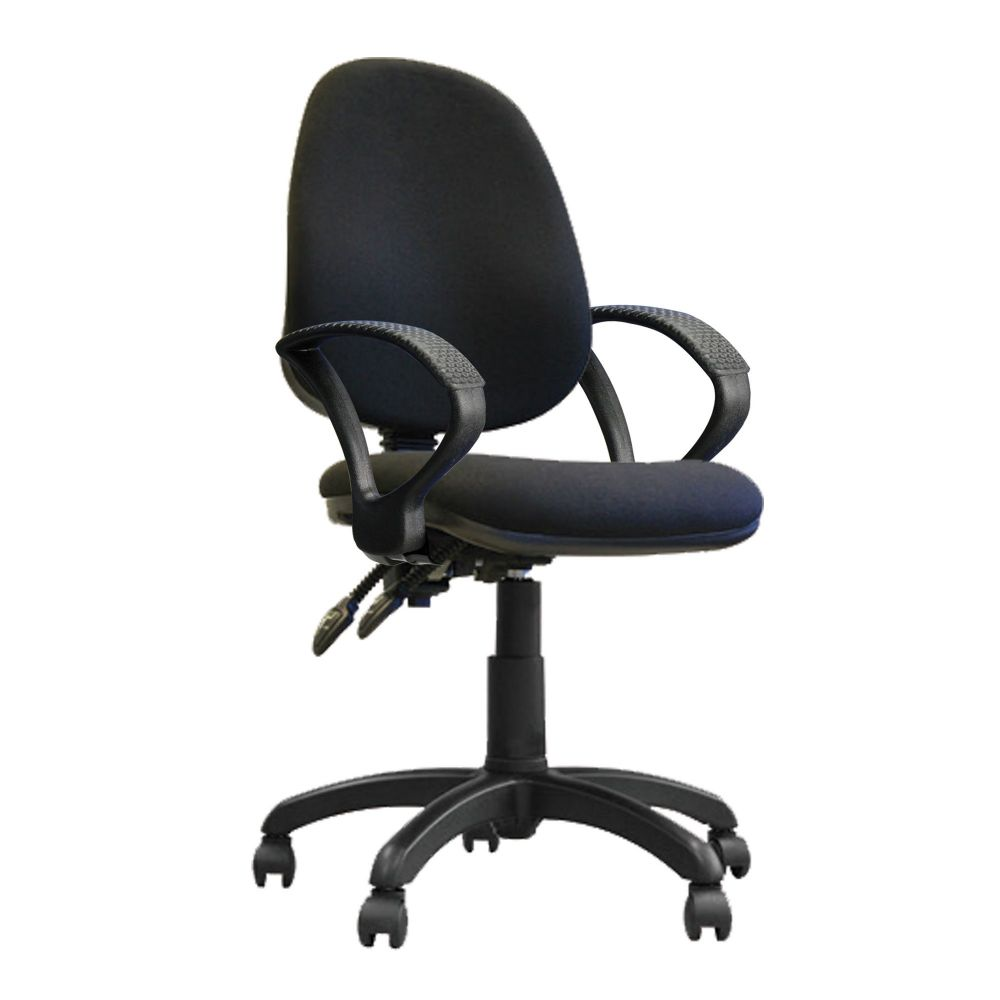 Java 200 Twin Lever, High Backrest, Operator Chair, Hoop Arms. Red, Blue, Green or Black